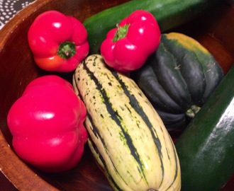 Meatless Monday: Squash-Stuffed Sheepnose Pimento Peppers
