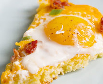 Cornbread Breakfast Pizza