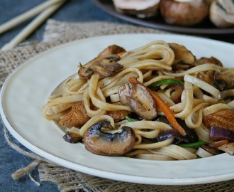 Ginger, Mushroom and Chicken Stir Fry