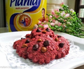 Red Velvet Cookies - Planta Seceria Air Tangan Ibu