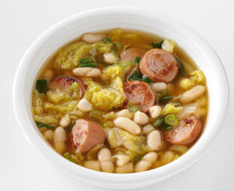 Hearty Cannellini & Sausage Soup