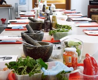Thai Seafood Banquet Class at Sticky Rice Cooking School