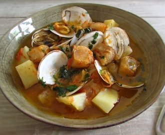 Monkfish stew with clams | Food From Portugal