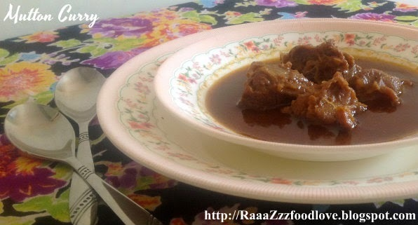 Simple Mutton Curry Recipe | How to Make Mutton Curry