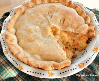 Cheese Lovers Chicken Pot Pie