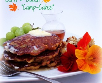 Corn and Bacon Camp-cakes