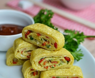 Step By Step Membuat Korean  Rolled Eggs Bersama LOCK&LOCK E-Cook Deco Fry Pan