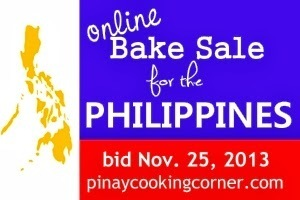 Online Bake Sale for the Philippines 11/25/2013 ***UPDATE***