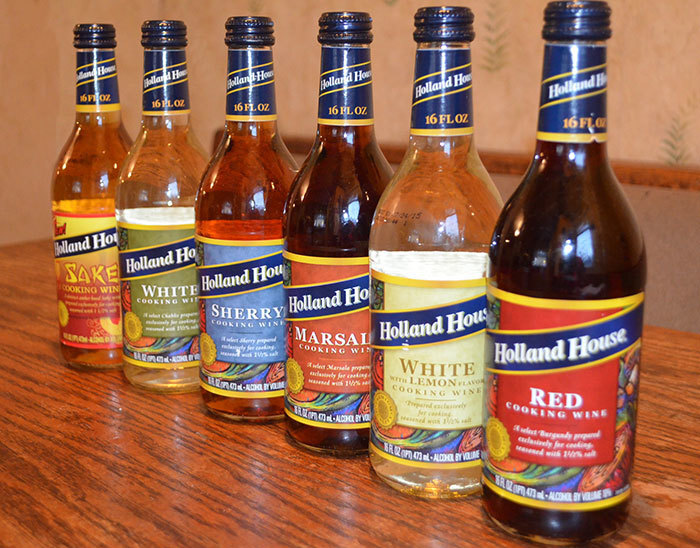 Give Your Food FLAVOR With Holland House Cooking Wines