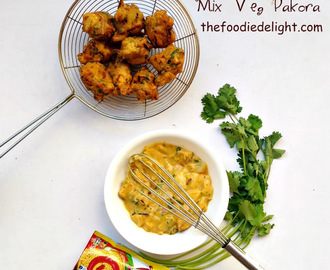 Mix Veg Pakora Recipe | Vegetable Pakora Recipe