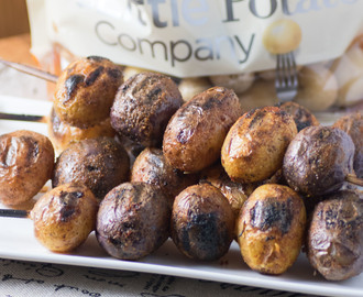 Mesquite BBQ Skewered Potatoes