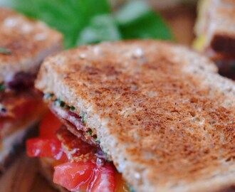 Summer's Not Over Yet Basil BLT
