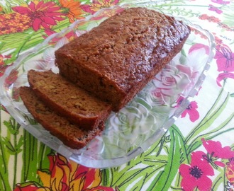 Here's a Zucchini Bread With a Hawaiian Twist!  Gluten Free Pineapple Zucchini Bread