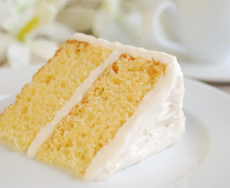 Old Fashioned Yellow Butter Cake