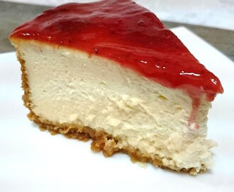 New York Cheesecake - Tarta de queso Postres Mil