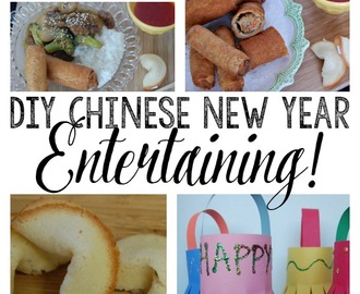 DIY Chinese New Year Entertaining! + FREE Fortune Cookie Fortune Printable!