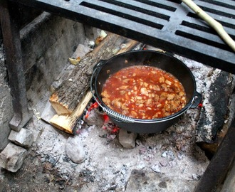 Campfire Maple Chipotle Pork & Beans