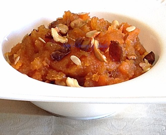Sweet Potato Halwa…..