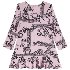 Young Versace Pink Palazzo and Baroque Jersey Dress 7 years