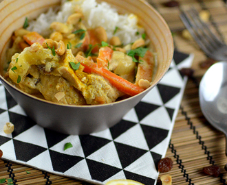 Indisches Chicken Curry mit Bananen