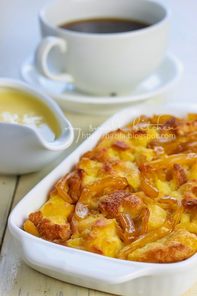 Bread Pudding with Preserved Jackfruit