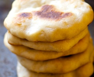 Oven-Baked Naan Bread