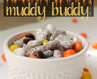 Halloween Muddy Buddy Mix