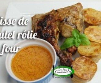 Cuisses de poulet rôties au four( Marinade africaine)