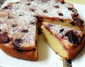 Italian Prune Plum and Almond Cake