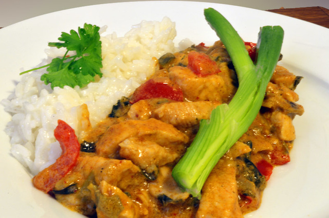 "Thai ""Red Curry"" kylling"