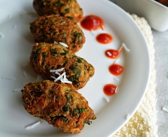 Gujarati Muthiah Fried Recipe, under 15 minutes