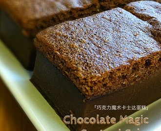 Chocolate Magic Custard Cake