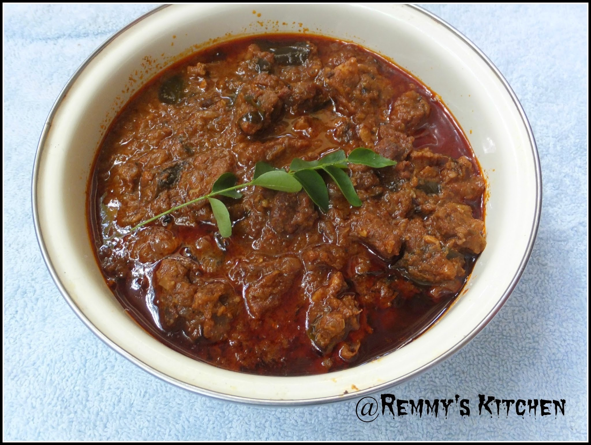 Beef curry thattukada style/Kerala beef curry fast food style