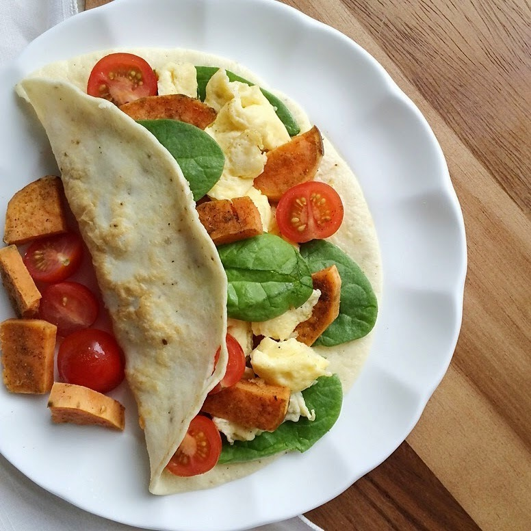 Coconut Flour Tortilla