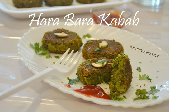 Hara Bhara Kabab / Vegetarian Kabab / Starter Snacks Recipes