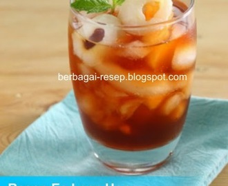 Resep Es Lecy Honey Ice Tea Segar Praktis