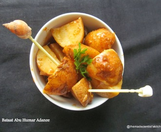 Bataat Abu Humar Adanee /Adeni Potatoes with Red chilli and Tamarind Sauce for Yemen