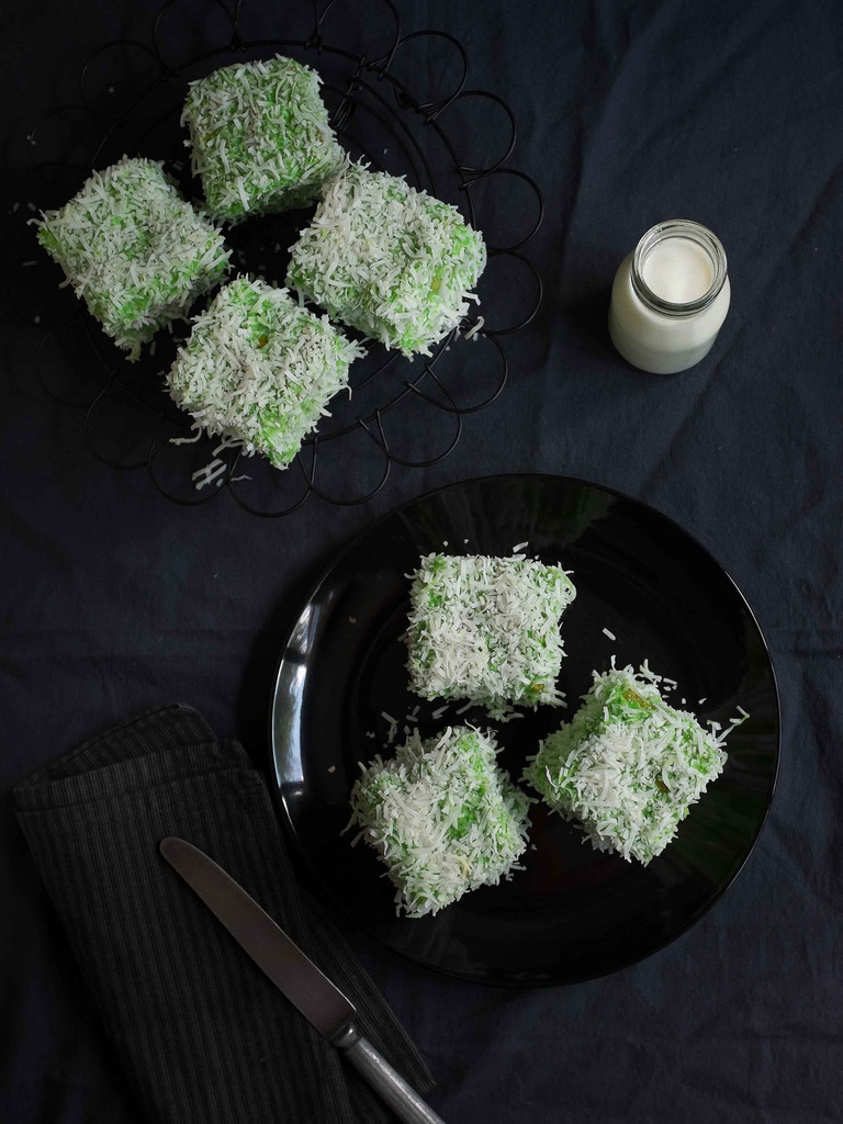 Pandan Kaya Lamingtons - A Delicious Twist On A Classic