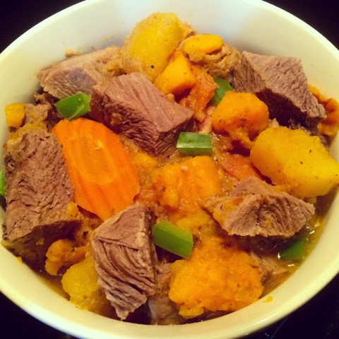 Paleo Bacon Beef with Butternut & Acorn Squash