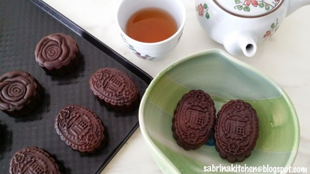 巧克力月饼~Chocolate Mooncake