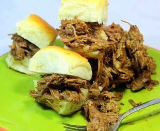PULLED PORK - EASIEST Tastiest Crock Pot 3 Ingredient EASY - 52 Crock Pot Easy Recipes