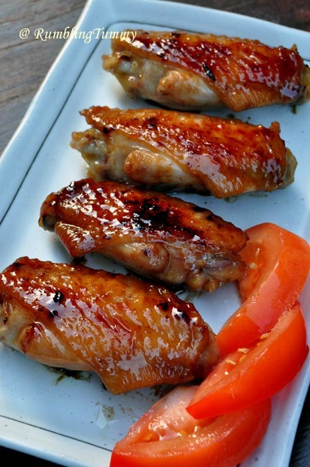 Grilled Honey Chicken