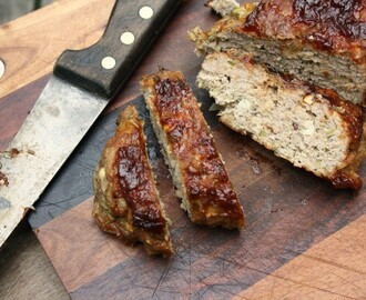 Turkey Meatloaf with Spiced Apple Barbecue Sauce