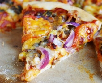 Bacon Cheeseburger Pizza Recipe
