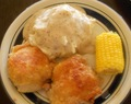 (Tricia Yearwood's) Gwen's Fried Chicken with Milk Gravy