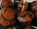 Chocolate Blueberry Muffins Recipe for Autism Awareness Day.
