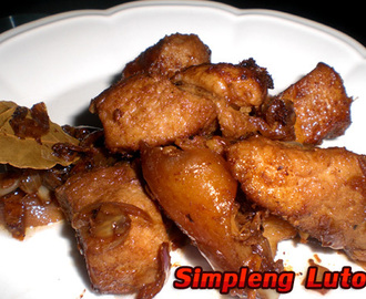 Adobong Baboy - My Style Of Adobo