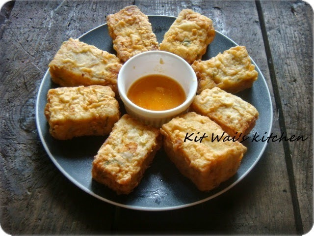 金瓜肉饼条 ~ Pumpkin Meat Cakes