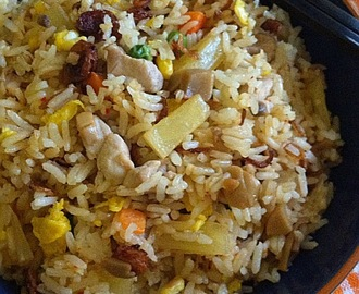 Sambal Chicken Fried Rice