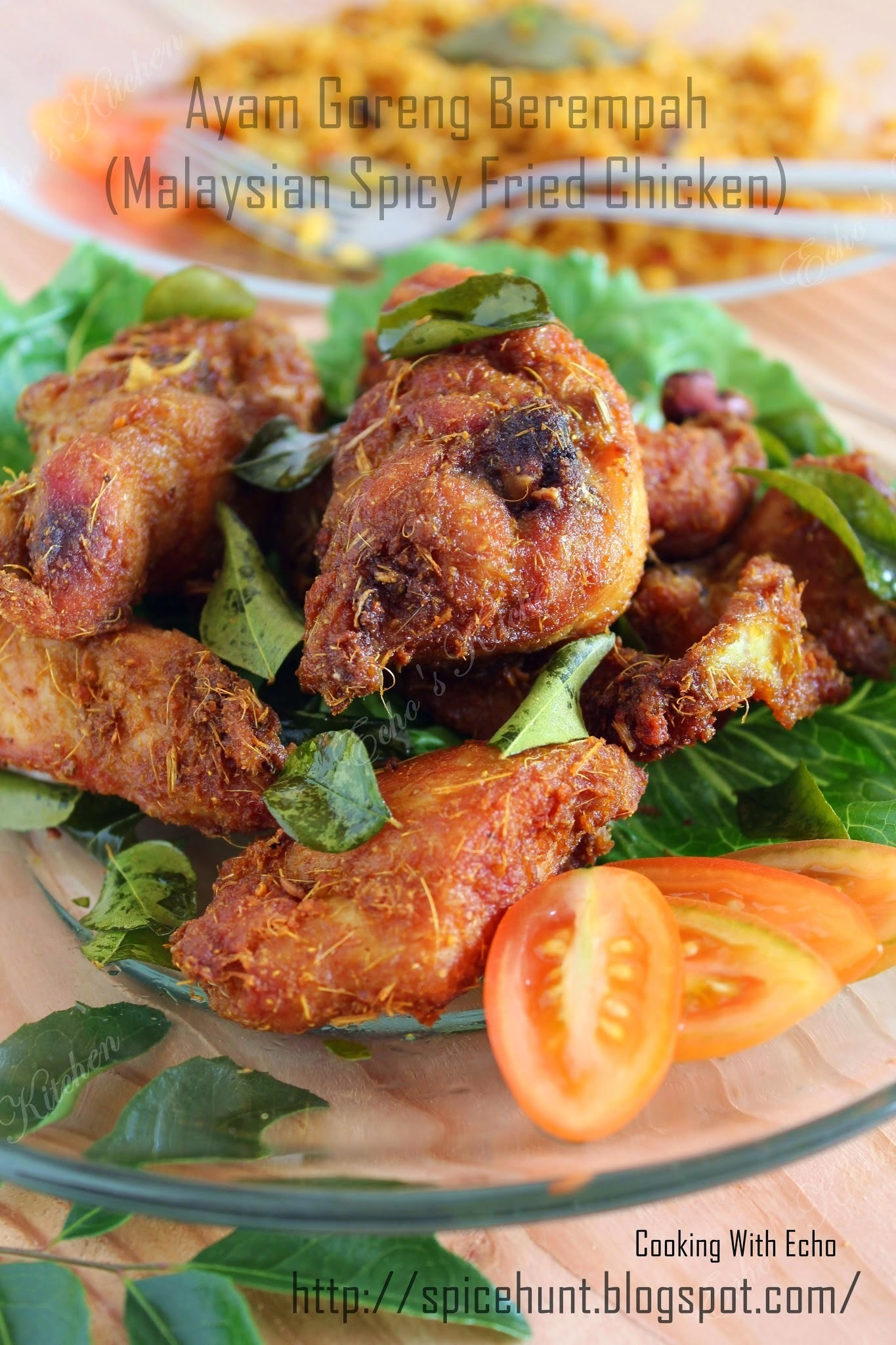 Ayam Goreng Berempah(Malaysian Style Spiced Fried Chicken)